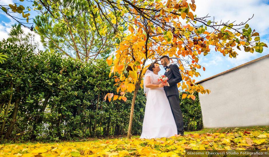 Il matrimonio di James e Carla a Certaldo, Firenze