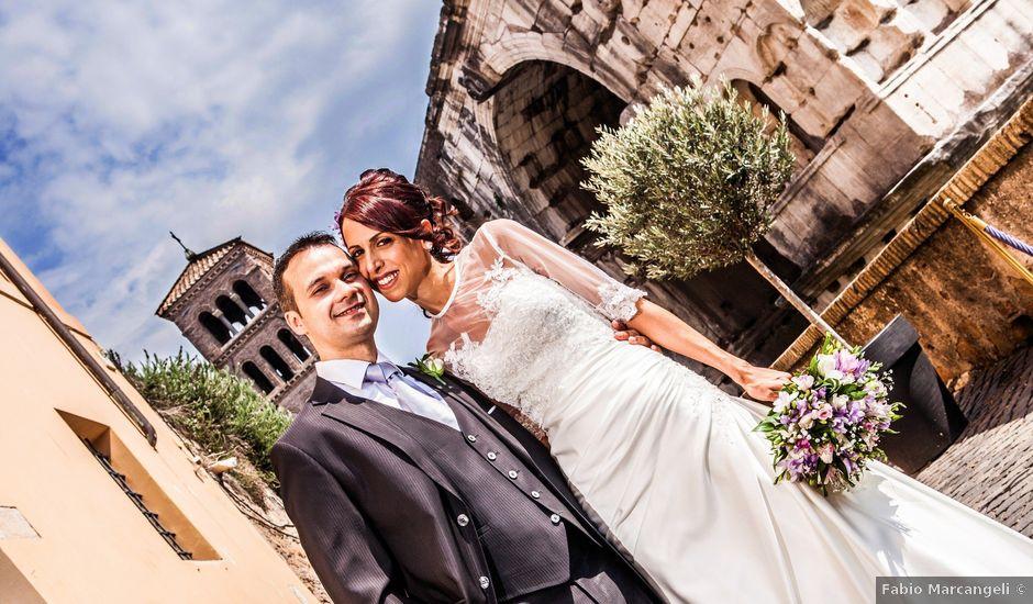 Il matrimonio di Alfredo e Eliana a Roma, Roma