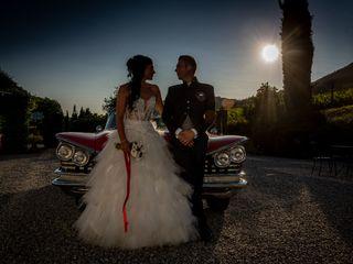 Le nozze di Gloriana e Yuri
