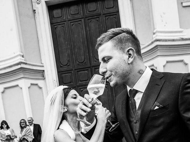 Il matrimonio di Diego e Cristina a Coccaglio, Brescia 137