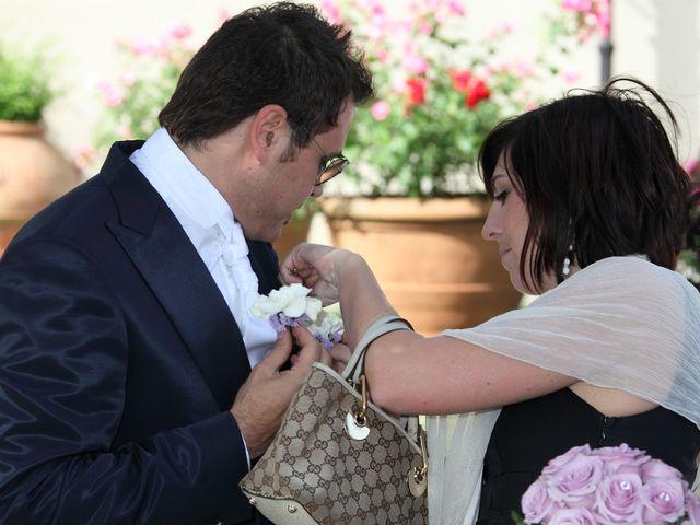 Il matrimonio di Massimo e Simona a San Casciano in Val di Pesa, Firenze 9
