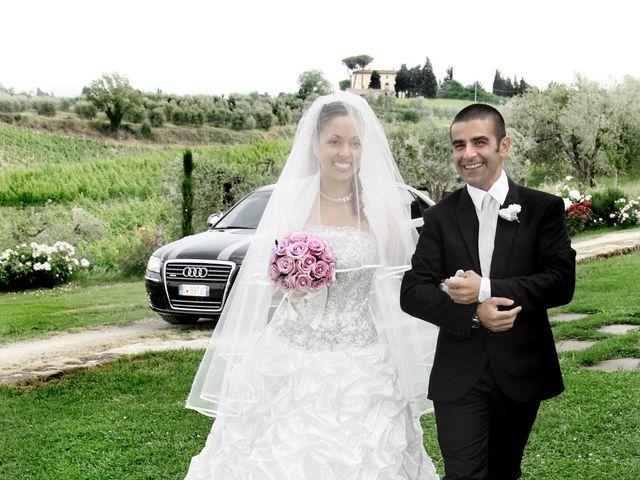 Il matrimonio di Massimo e Simona a San Casciano in Val di Pesa, Firenze 15