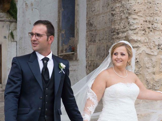 Il matrimonio di Elisabetta e Federico a Oria, Brindisi 11