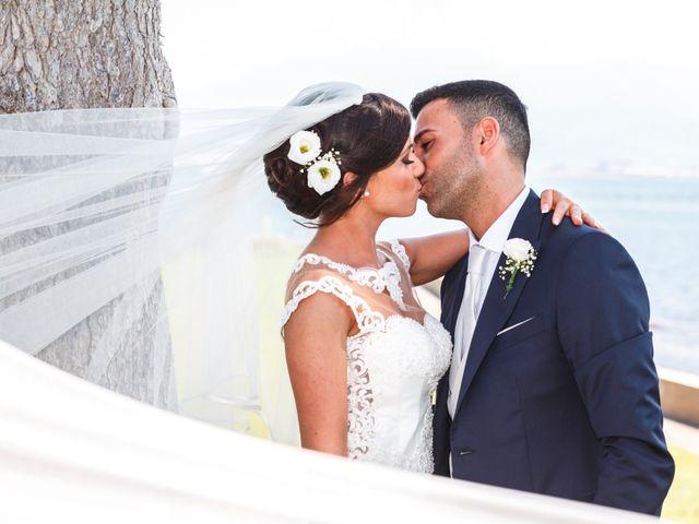 Il matrimonio di Angelo e Nunzia a Boscoreale, Napoli 7