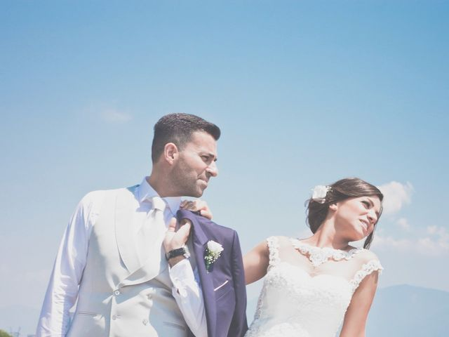 Il matrimonio di Angelo e Nunzia a Boscoreale, Napoli 16