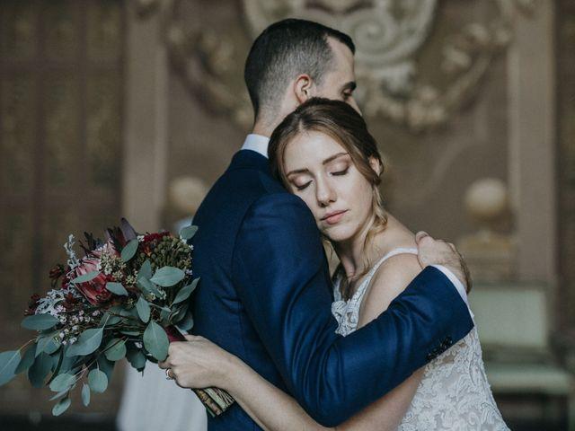 Le nozze di Serena e Dominic