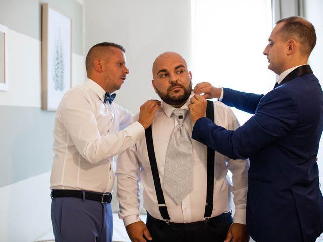 Il matrimonio di Mirko e Elisa a Arcore, Monza e Brianza 20