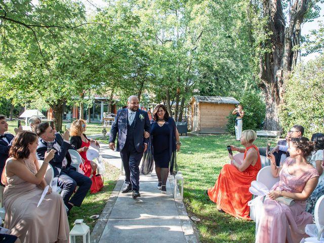 Il matrimonio di Mirko e Elisa a Arcore, Monza e Brianza 25