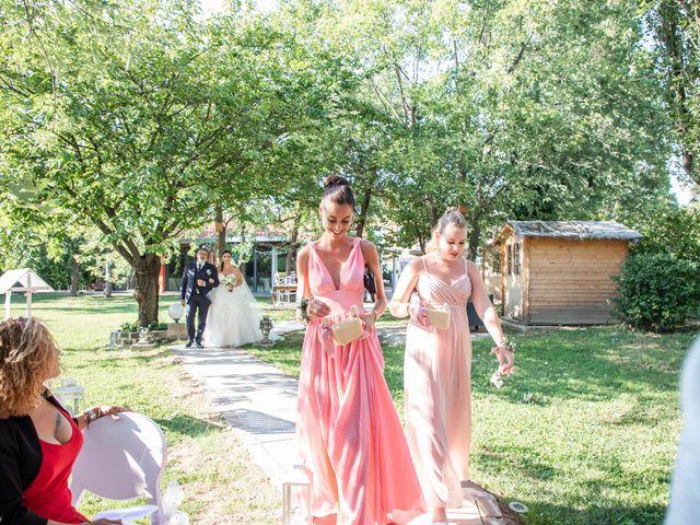 Il matrimonio di Mirko e Elisa a Arcore, Monza e Brianza 26