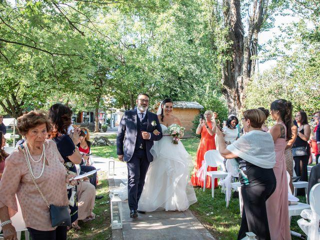 Il matrimonio di Mirko e Elisa a Arcore, Monza e Brianza 27