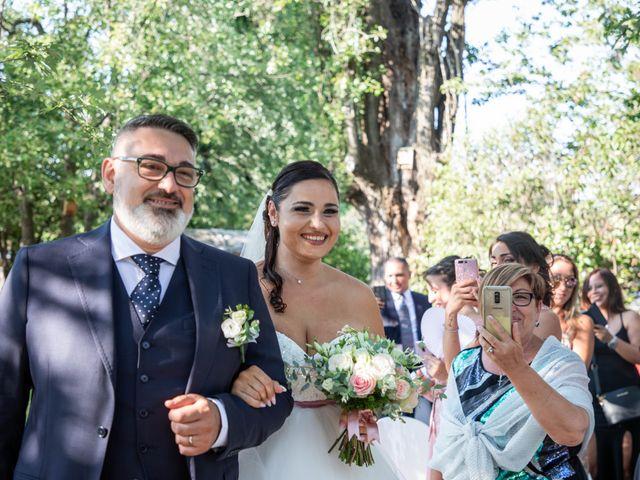 Il matrimonio di Mirko e Elisa a Arcore, Monza e Brianza 28