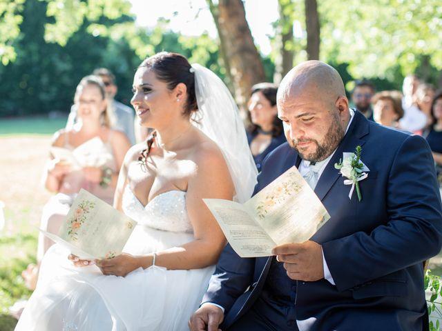 Il matrimonio di Mirko e Elisa a Arcore, Monza e Brianza 30