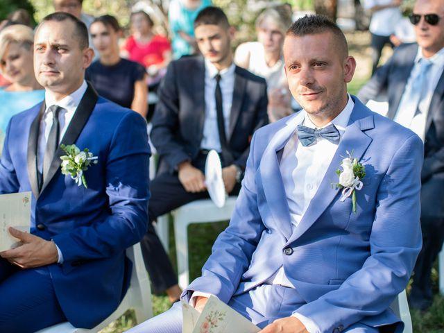 Il matrimonio di Mirko e Elisa a Arcore, Monza e Brianza 32