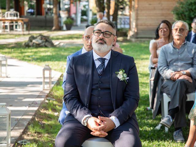 Il matrimonio di Mirko e Elisa a Arcore, Monza e Brianza 38