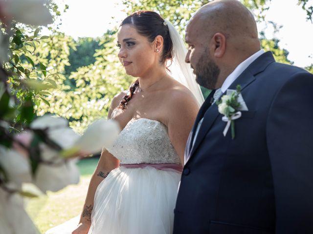 Il matrimonio di Mirko e Elisa a Arcore, Monza e Brianza 41