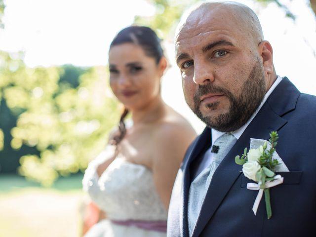 Il matrimonio di Mirko e Elisa a Arcore, Monza e Brianza 43