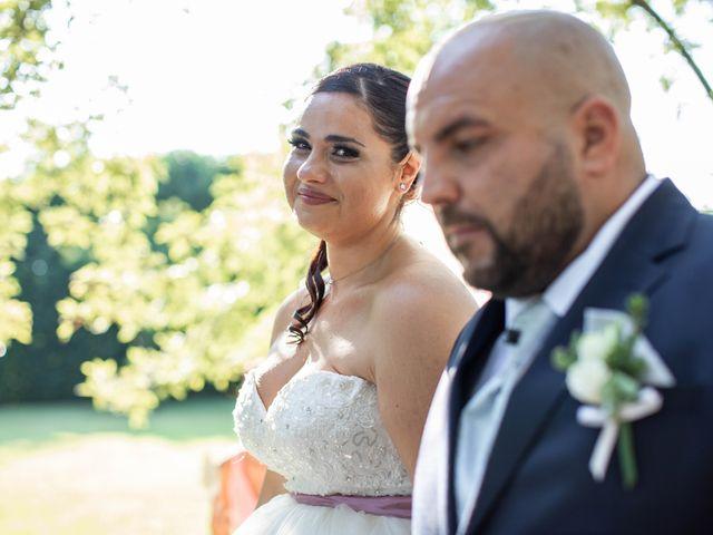 Il matrimonio di Mirko e Elisa a Arcore, Monza e Brianza 44