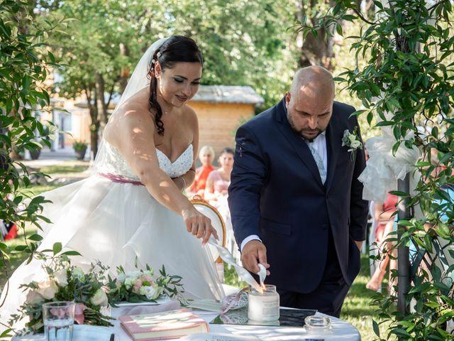 Il matrimonio di Mirko e Elisa a Arcore, Monza e Brianza 45