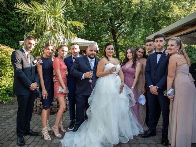 Il matrimonio di Mirko e Elisa a Arcore, Monza e Brianza 50