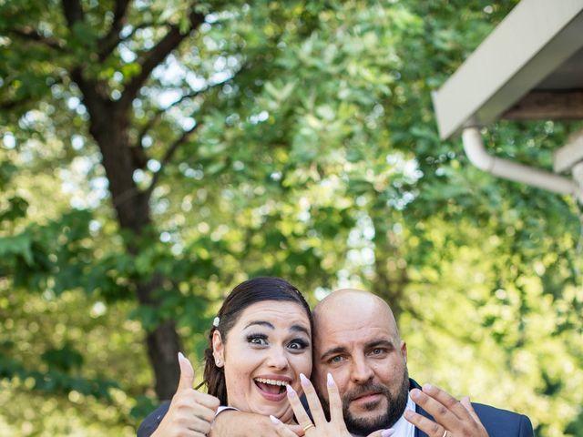 Il matrimonio di Mirko e Elisa a Arcore, Monza e Brianza 54