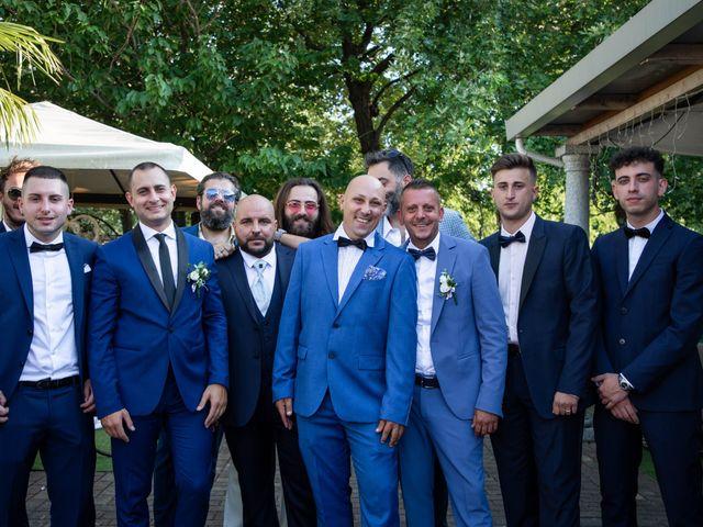 Il matrimonio di Mirko e Elisa a Arcore, Monza e Brianza 55