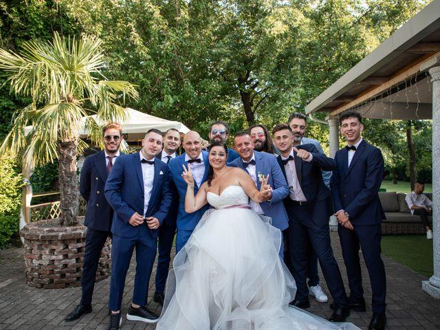 Il matrimonio di Mirko e Elisa a Arcore, Monza e Brianza 56