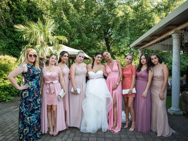 Il matrimonio di Mirko e Elisa a Arcore, Monza e Brianza 57