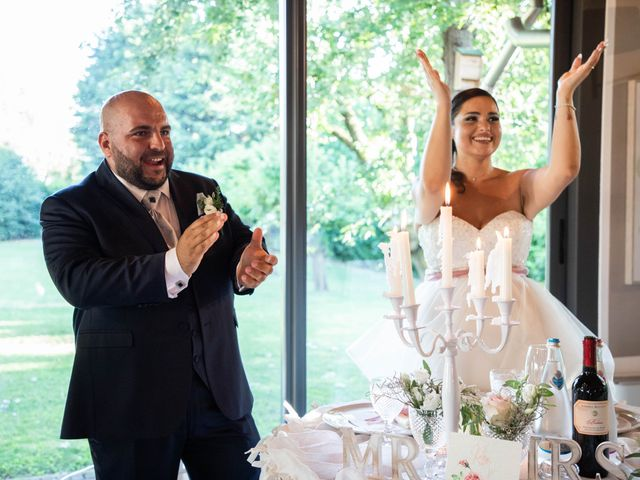 Il matrimonio di Mirko e Elisa a Arcore, Monza e Brianza 74
