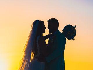 Le nozze di Linda e Morgan