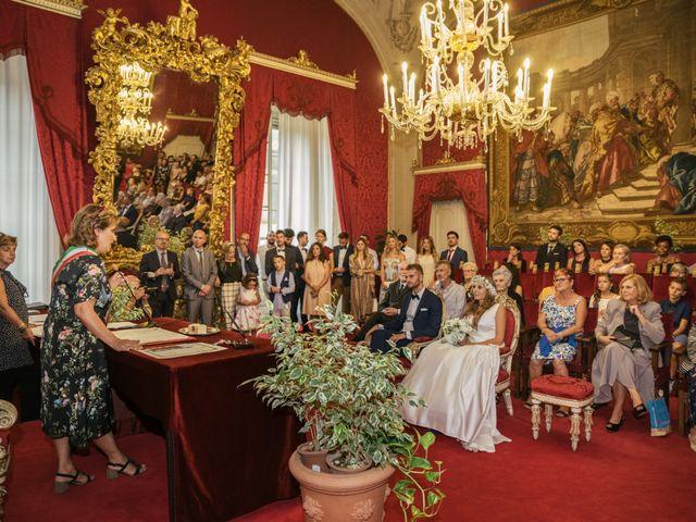 Il matrimonio di Matteo e Francesca a Firenze, Firenze 1