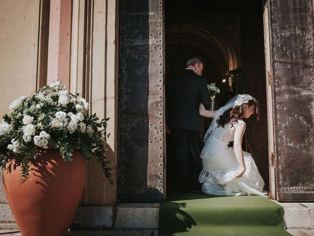 Il matrimonio di Francesco e Mena a Vico Equense, Napoli 1