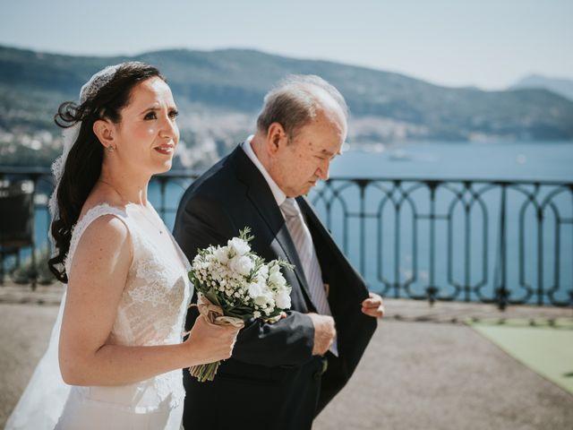 Il matrimonio di Francesco e Mena a Vico Equense, Napoli 32