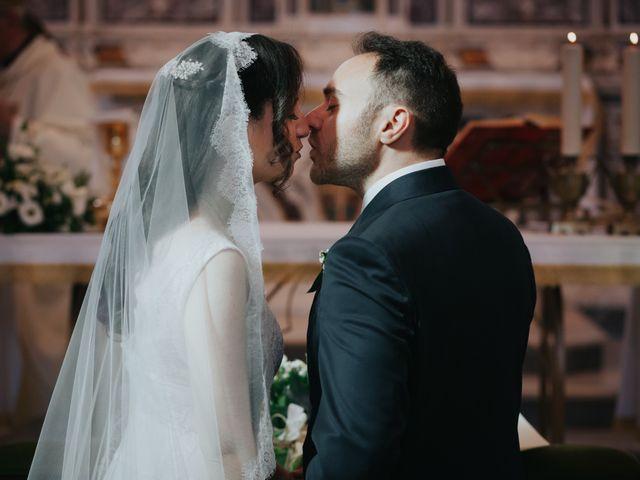 Il matrimonio di Francesco e Mena a Vico Equense, Napoli 37