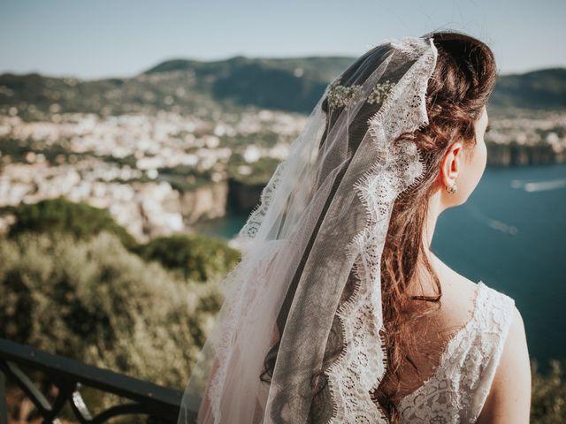 Il matrimonio di Francesco e Mena a Vico Equense, Napoli 43