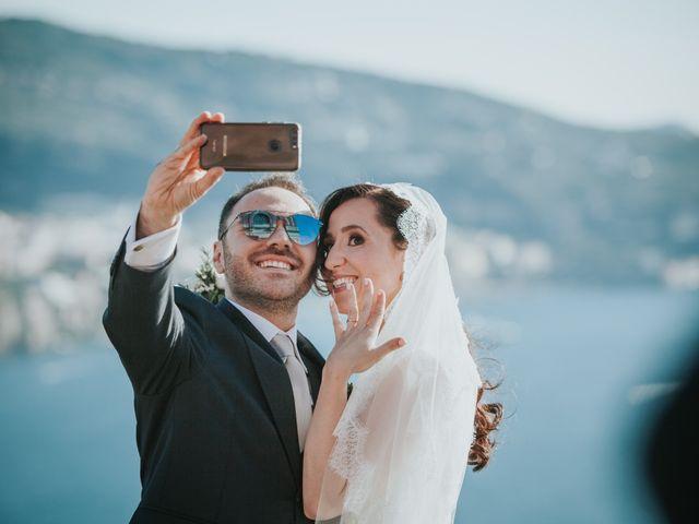 Il matrimonio di Francesco e Mena a Vico Equense, Napoli 44