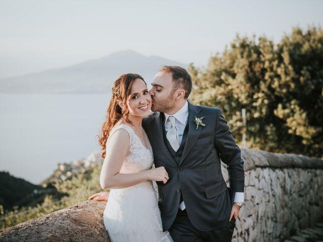 Il matrimonio di Francesco e Mena a Vico Equense, Napoli 50