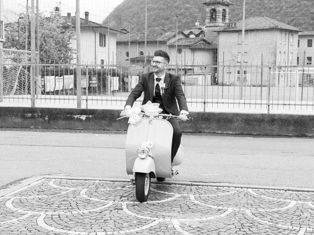 Il matrimonio di Fabrizio e Fulvia a Sarezzo, Brescia 28