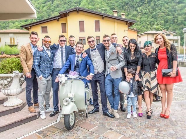 Il matrimonio di Fabrizio e Fulvia a Sarezzo, Brescia 38