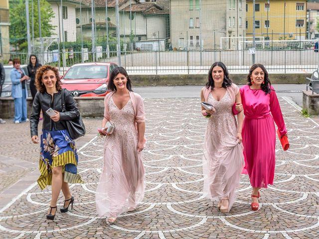 Il matrimonio di Fabrizio e Fulvia a Sarezzo, Brescia 52