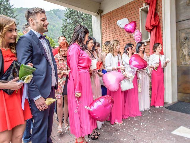 Il matrimonio di Fabrizio e Fulvia a Sarezzo, Brescia 80