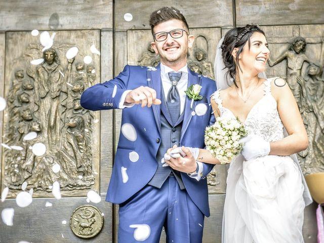 Il matrimonio di Fabrizio e Fulvia a Sarezzo, Brescia 82