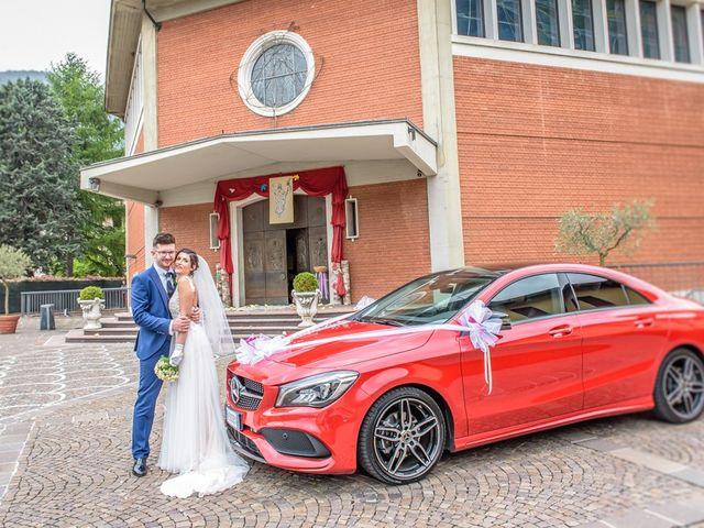 Il matrimonio di Fabrizio e Fulvia a Sarezzo, Brescia 87