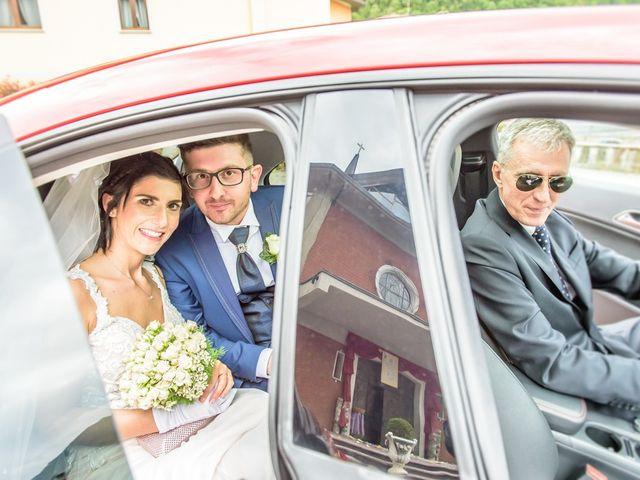 Il matrimonio di Fabrizio e Fulvia a Sarezzo, Brescia 90