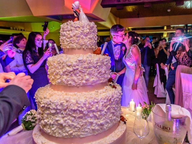 Il matrimonio di Fabrizio e Fulvia a Sarezzo, Brescia 108