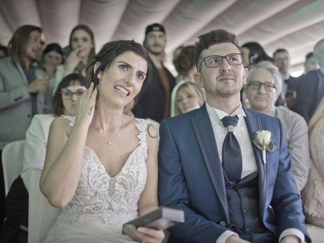 Il matrimonio di Fabrizio e Fulvia a Sarezzo, Brescia 125
