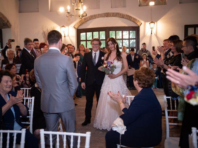 Il matrimonio di Simone e Laura a Montebello della Battaglia, Pavia 2