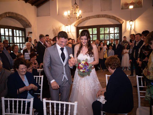 Il matrimonio di Simone e Laura a Montebello della Battaglia, Pavia 23