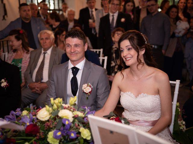 Il matrimonio di Simone e Laura a Montebello della Battaglia, Pavia 25