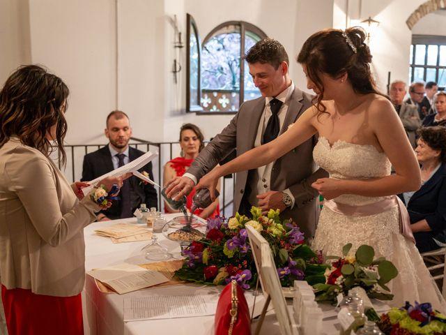 Il matrimonio di Simone e Laura a Montebello della Battaglia, Pavia 29