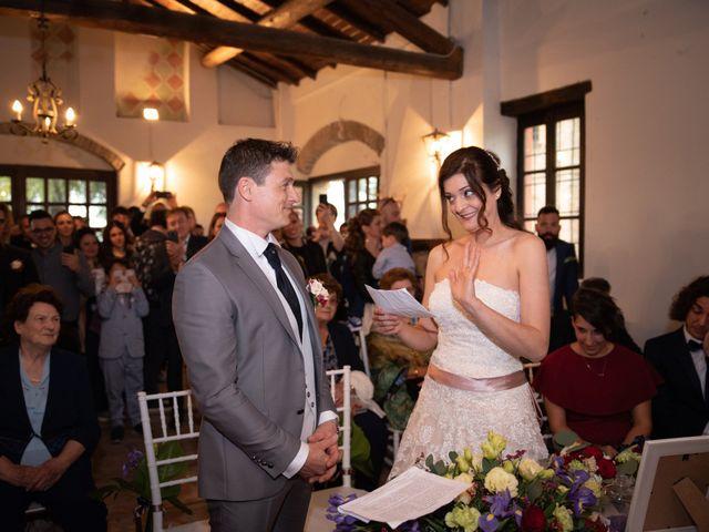 Il matrimonio di Simone e Laura a Montebello della Battaglia, Pavia 34